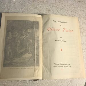 """The Adventures of Oliver Twist and Sketches by """"Boz"""" Volume III"""