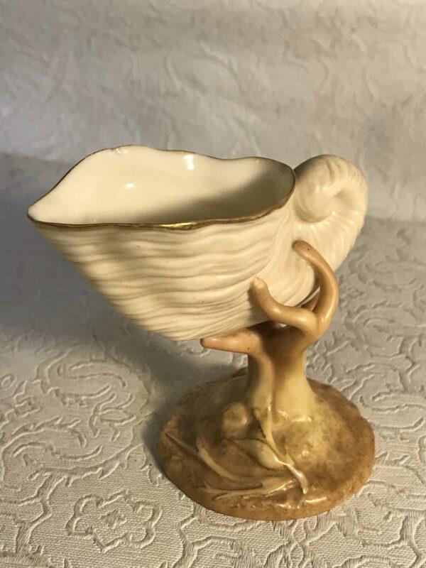 Royal-Worcester-Miniature-Blush-Nautilus