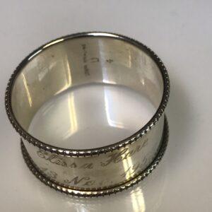 Steiff napkin ring