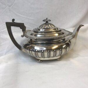 Antique Silver Plated James Dixon & Sons Tea Pot