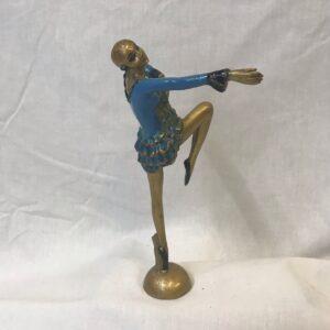 Art Deco Joseph Lorenz Cold Patinated Dancer
